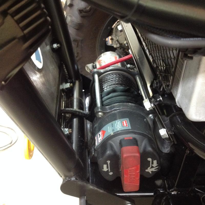 Kawasaki Teryx Winch Installation