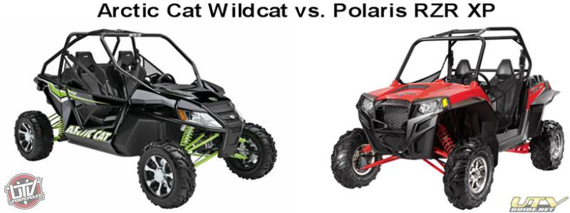 Artic Cat Wildcat 1000 vs. Polaris RZR XP 900